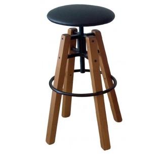 Barock ξύλινο σκαμπό bar