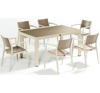 Ponte 150x90 dining table set