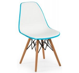 EOS-V καρέκλα με Ξύλινα πόδια