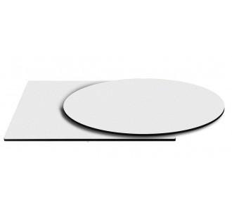 Λευκή επιφάνεια HPL 12mm