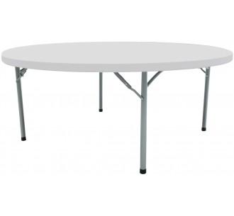 Colorado Ø180 πτυσσόμενο τραπέζι ροτόντα