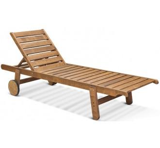 Illy ξαπλώστρα ξύλινη