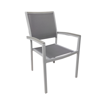Messina πολυθρόνα αλουμινίου