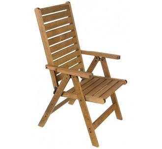 AVG251 πολυθρόνα ξύλινη