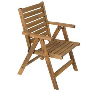 AVG245 πολυθρόνα ξύλινη