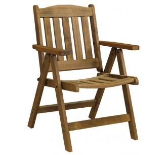 AVG249 πολυθρόνα ξύλινη