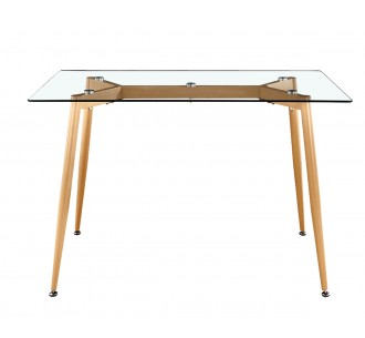 MILD τραπέζι 80x120 μεταλλικό