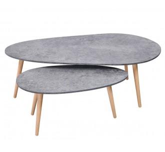 DPE coffee table set 2τμχ