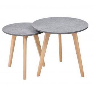 KIT coffee table set 2τμχ