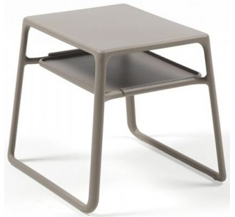 Pop side table with tray