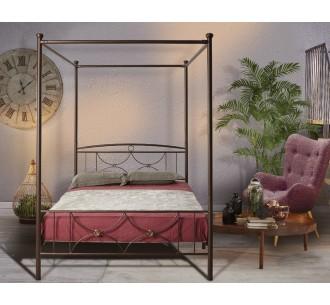 MC26 μεταλλικό κρεβάτι με ουρανό