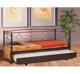 MC48 μεταλλικός καναπές με συρόμενο κρεβάτι