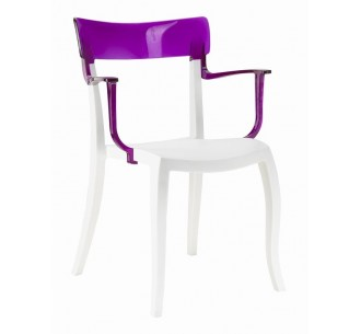Hera-K λευκή πολυθρόνα
