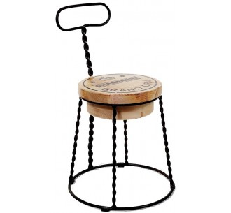 Afro μεταλλική καρέκλα